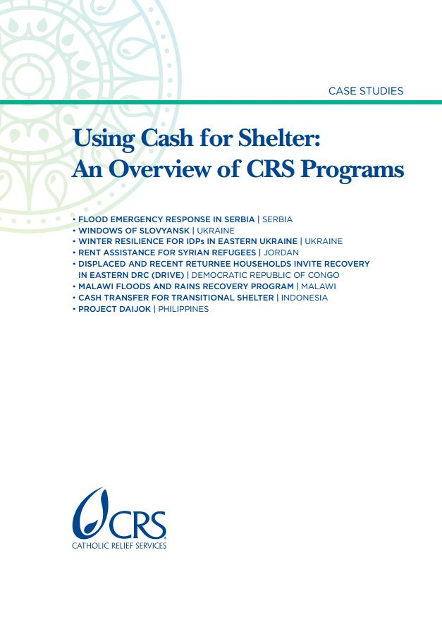 CRS - Cash for shelter cover