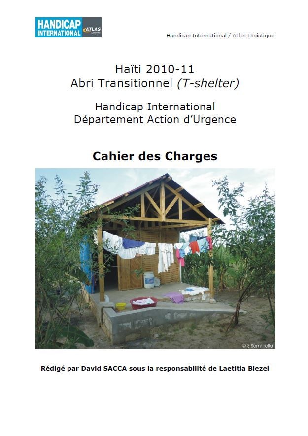 Abri Transitionnel (T-shelter)